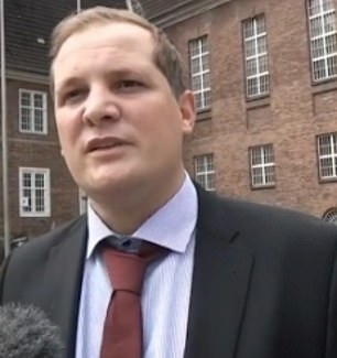 Brueckner's lawyer Friedrich Fulscher (pictured) said his client - who is languishing in solitary confinement in a German prison - 'denied any involvement' in Madeleine's case, The Mirror reports. Right: Brueckner