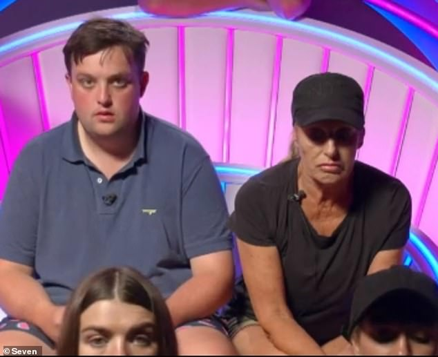 TBH: Big Brother told the housemates the truth during the break:'Look, we're legally obliged to tell you that the 'coronavirus' contact is just the Director Of Photography's brother's Tinder date,' he said.