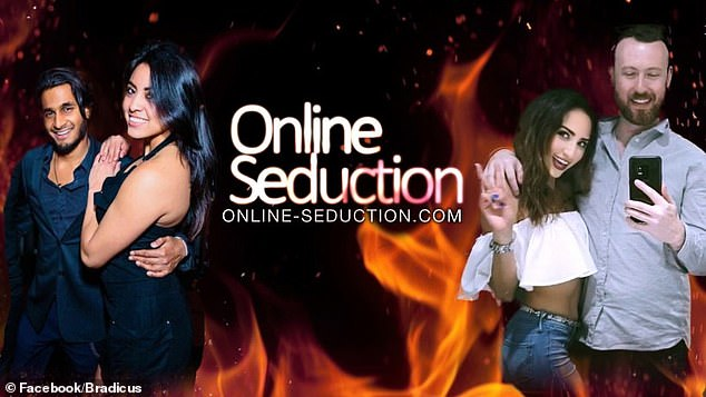 Yikes: He runs an online course called 'Online Seduction,' where he purports to teach men 'how to have HOT GIRLS delivered to your door daily'